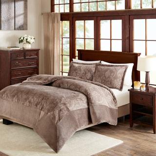 Premier Comfort Trenton Velour to Berber Comforter Mini Set