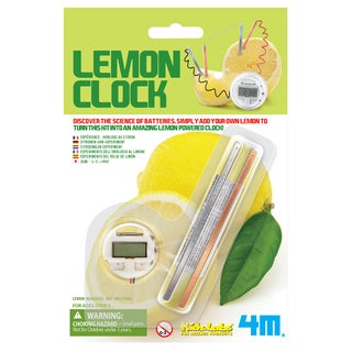 Toysmith 4464 Lemon Clock