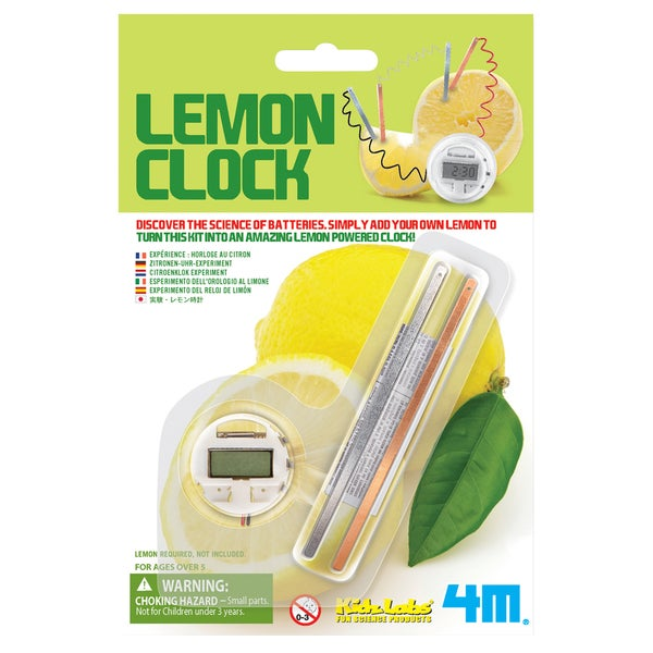 Toysmith 4464 Lemon Clock