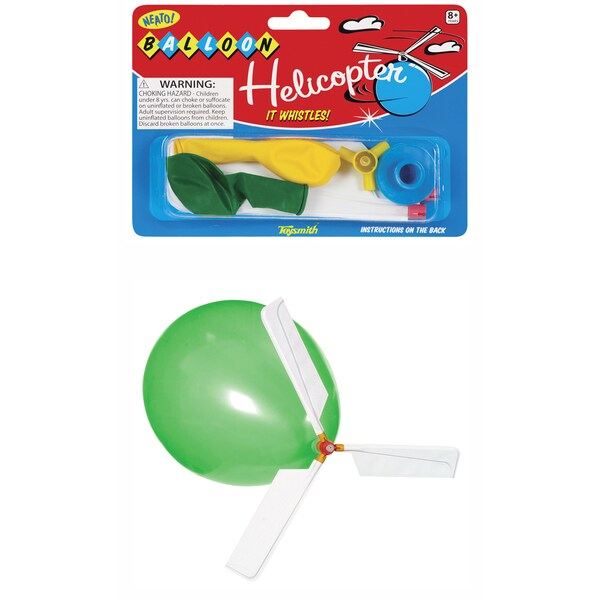 Toysmith 6053 Whistle Balloon Helicopter