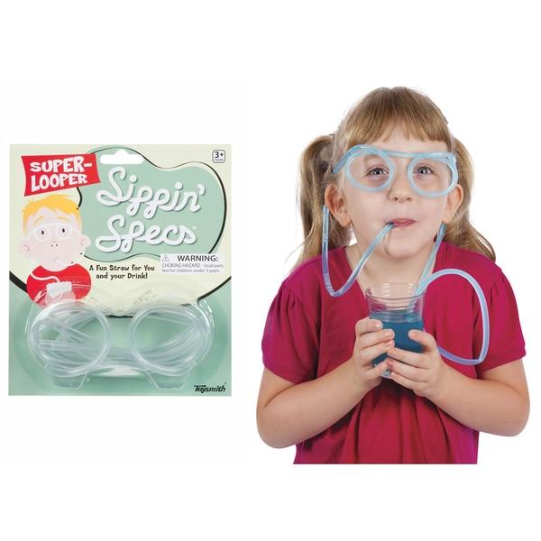 Toysmith 4809 Sippin Specs Straw Glasses