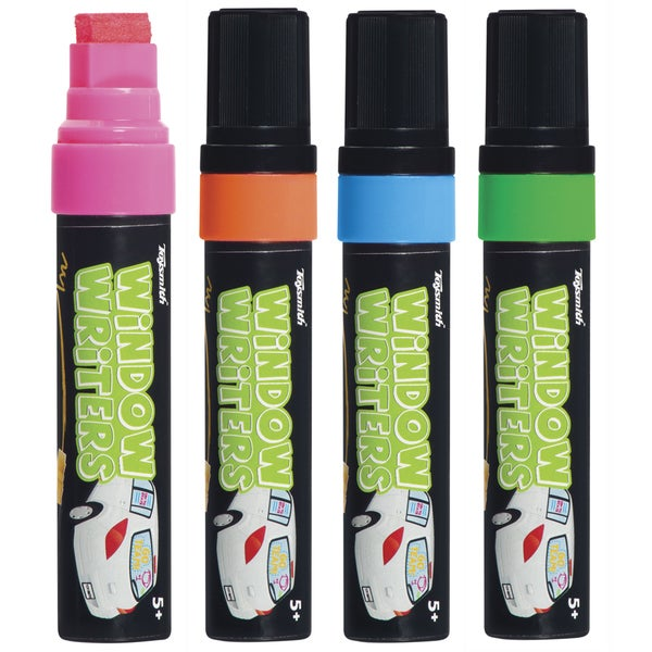 Toysmith 5692 Window Writers Assorted Colors