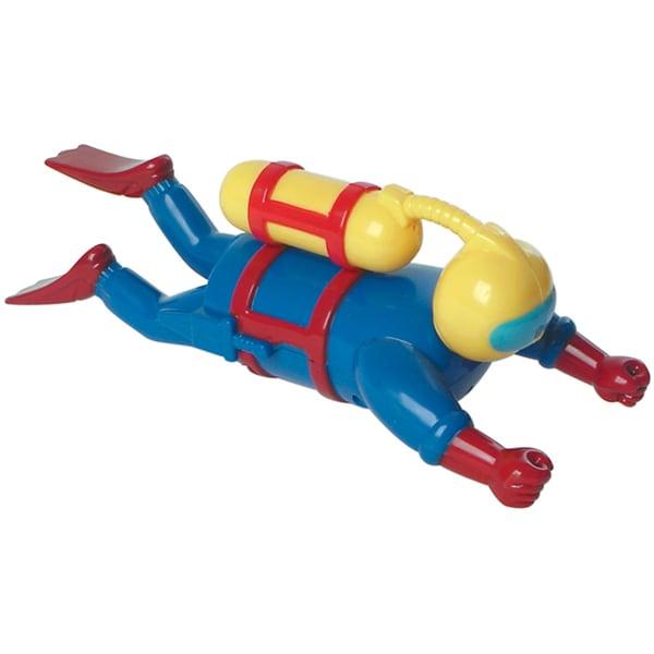 "Toysmith 63338 7.5"" Wind-Up Scuba Diver"