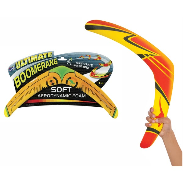"Toysmith 74143 18"" Big Bad Boomerang Assorted Colors"