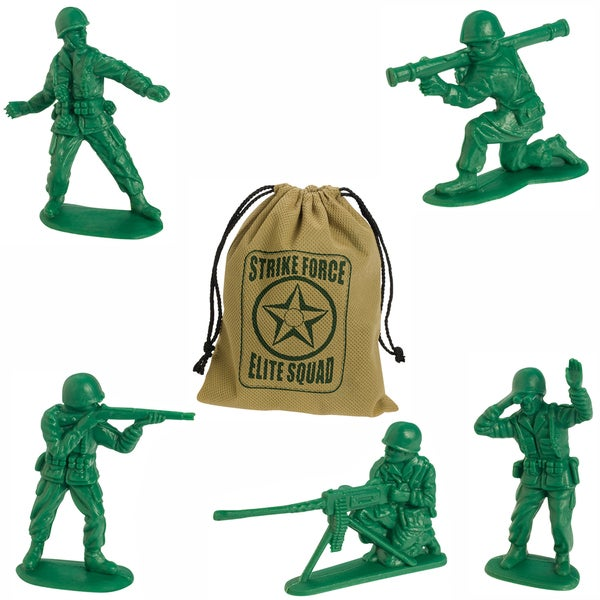Toysmith 7803 Strike Force Army Figruine Playset 32 Piece Set