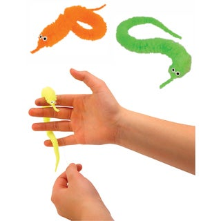 Toysmith 8906 Magic Worm Toy Assorted Colors