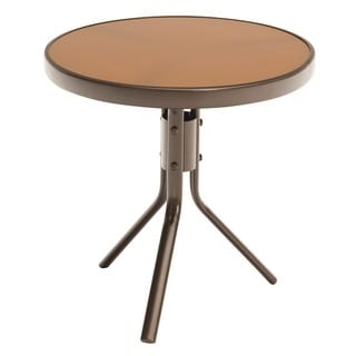 "Jack Post CG-02Z-JE 19.75"" X 19.75"" Brown End Table"
