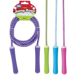 Toysmith 9413 7' Jump Rope Assorted Colors