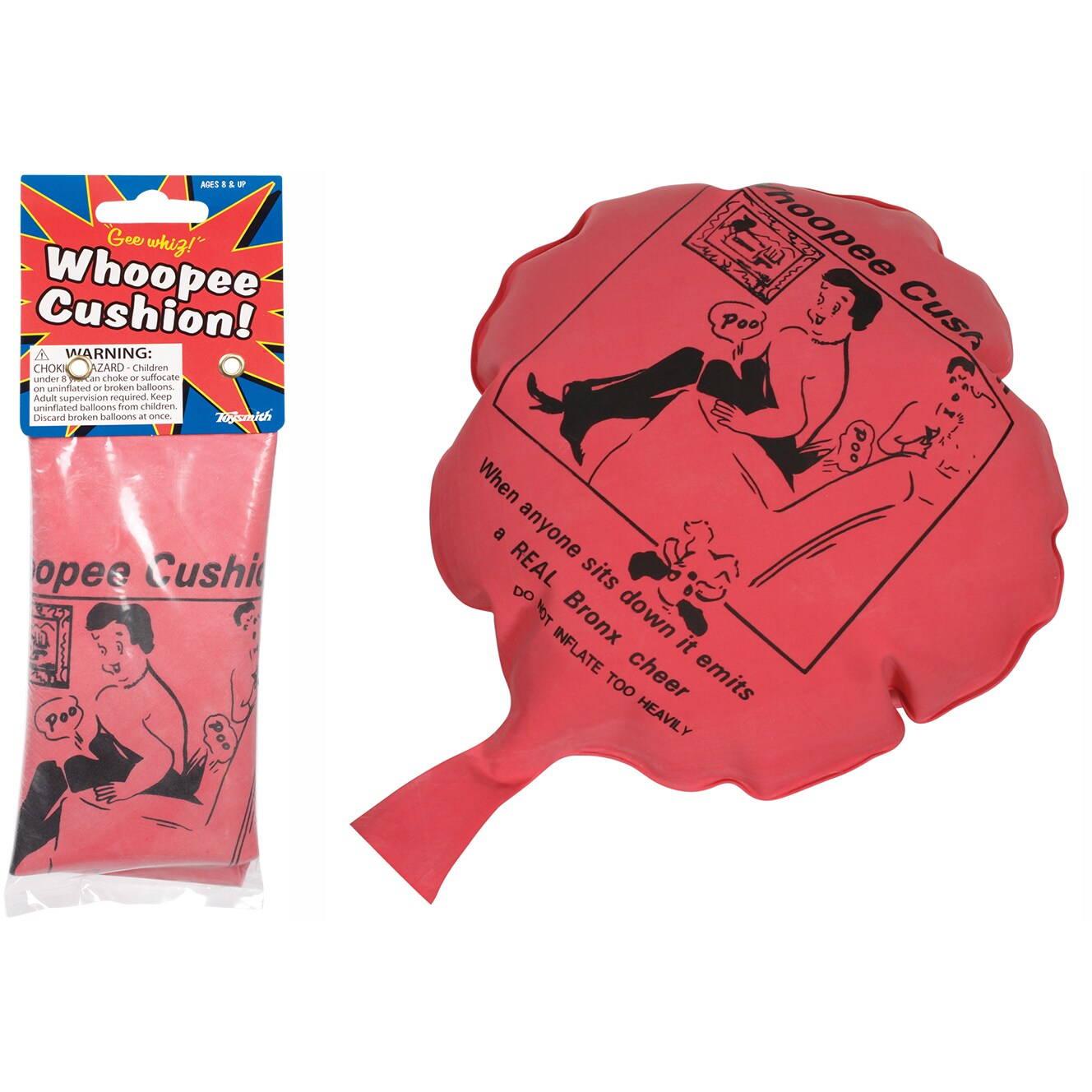 Toysmith 9716 Whoopee Cushion Toy (Whoopee Cushion)