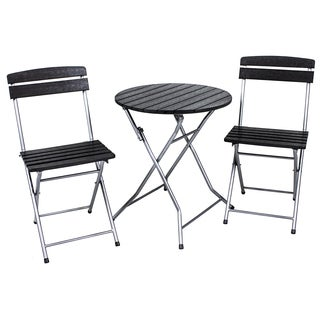 River Cottage Gardens PB004 Black Bistro 3 Piece Set
