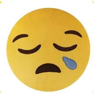 BH Toys Emoji Plush Sad Face Expression Pillow