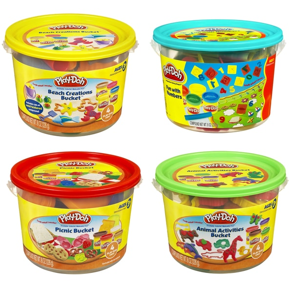 Play-Doh 23414 Play-Doh Bucket Assorted Styles