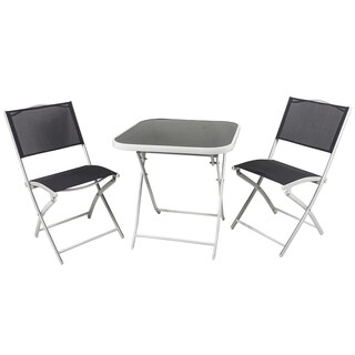 River Cottage Gardens PB009-2 Dark Gray Bistro 3 Piece Set