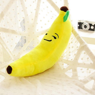 BH Toys Emoji 18-inch Proud Face Banana Plush Expression Pillow
