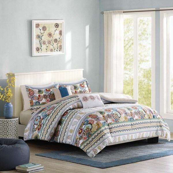 Intelligent Design Lacie Multi Microfiber Printed Comforter Set