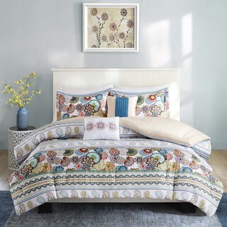 Intelligent Design Lacie Multi Microfiber Printed Comforter Set