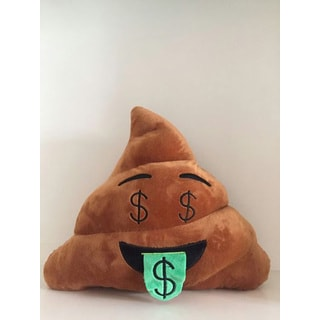 BH Toys Emoji Money Face Poop Plush Expression Pillow