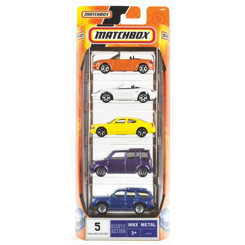 Hot Wheels C1817 Matchbox Car Assortment 5-count
