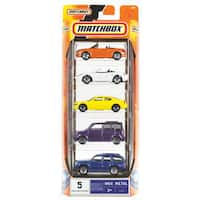 Hot Wheels C1817 Matchbox Car Assortment 5-count
