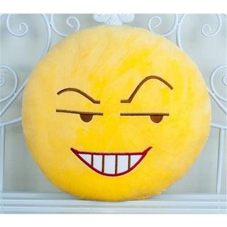 BH Toys 'Insidious Face' Yellow Cotton Plush Emoji Pillow