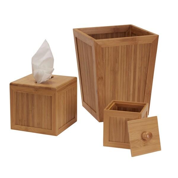 Essential Bamboo 3-piece Bath Set