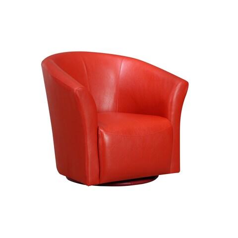 Picket House Radford Swivel Chair Riviera 6273 Red
