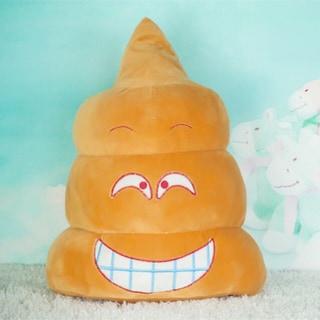 BH Toys Emoji Poop Grin Cotton 11-inch Pillow