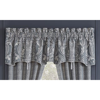 Croscill Gabrijel Blue Canopy Window Valance