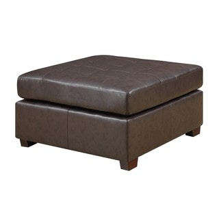 Picket house Calvin Traditional Tufted Ottoman