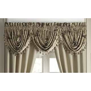 Croscill Sorina Waterfall Swag Window Valance