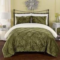 Gracewood Hollow George 3-piece Bed in a Bag Green Comforter Set