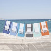 Palm Canyon Montecito Cotton Beach and Head Towel Set (Set of 2)