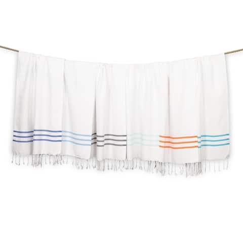 Authentic Ella Pestemal Fouta Turkish Cotton Hand/Kitchen Towels (Set of 2)