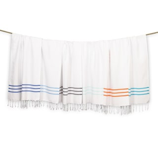 Authentic Ella Pestemal Fouta Turkish Cotton Hand/Kitchen Towels (Set of 2)