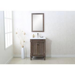 bathroom vanity one sink. Legion Furnitue Weathered Grey Single sink 24 inch Vanity and Wall Mirror  Set Size Vanities Bathroom Cabinets For Less
