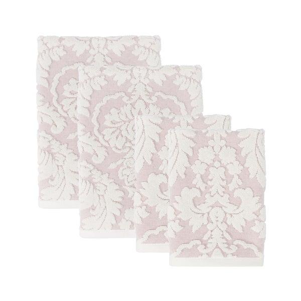 Sherry Kline Brighton 4-piece Jacquard Towel Set