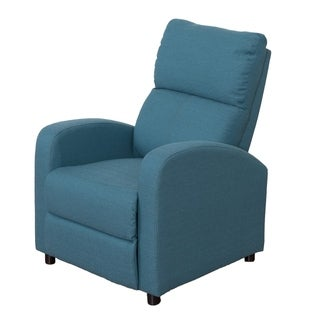 Moor Linen Contemporary Recliner Chair
