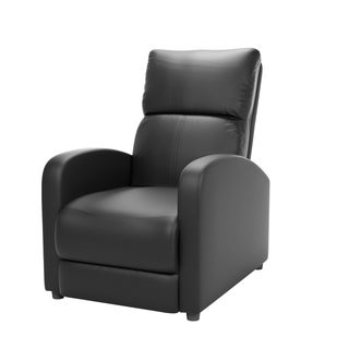 CorLiving Moor Bonded Leather Reclining Armchair