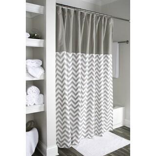 Arden Loft Geometric Grey White 72x72 Shower Curtain
