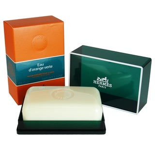 Hermes Eau D'Orange Verte Men's 5.2-ounce Perfumed Bath Soap
