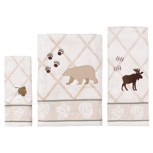 Saturday Knight Silhoutte Lodge 3-Piece Towel Set