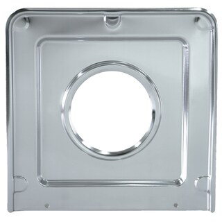 "Range Kleen SGP401 9-1/8"" Chrome Square Drip Pan"