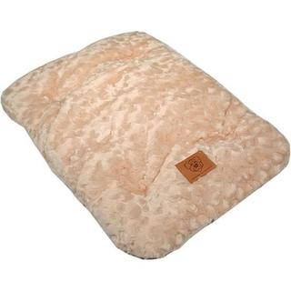 Precision Pet Snoozy Cozy Comforter Beige/Brown Dog Crate Bed
