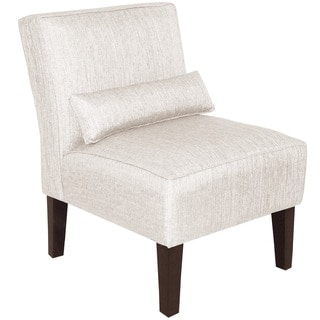 Skyline Furniture Groupie Oyster Armless Slipper Chair