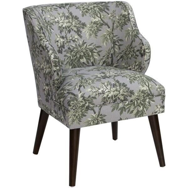 Shop Skyline Furniture Sylvan Toile Greystone Cotton And