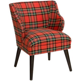 Shop Skyline Furniture Ancient Stewart Red Plaid Slipper
