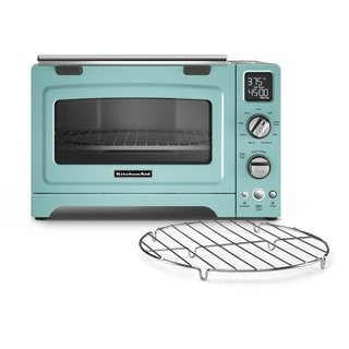 KitchenAid KCO275AQ Aqua Sky 12-inch Digital Convection Countertop Oven