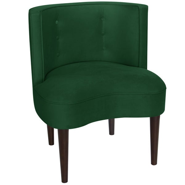Skyline furniture fauxmo emerald green side chair 19616589