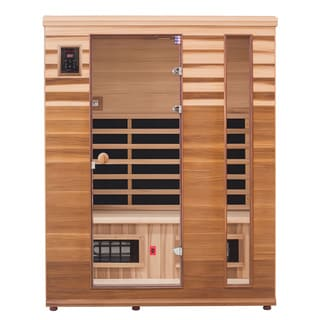 Health Mate Renew III Infrared 3-Person Canadian Western Red Cedar Sauna