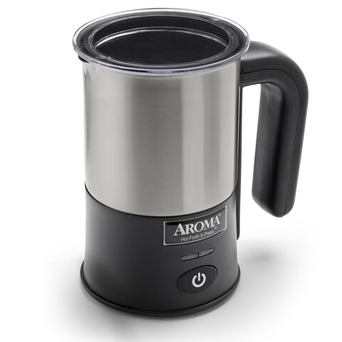 Aroma Stainless Steel Hot Froth X-press Milk Frother